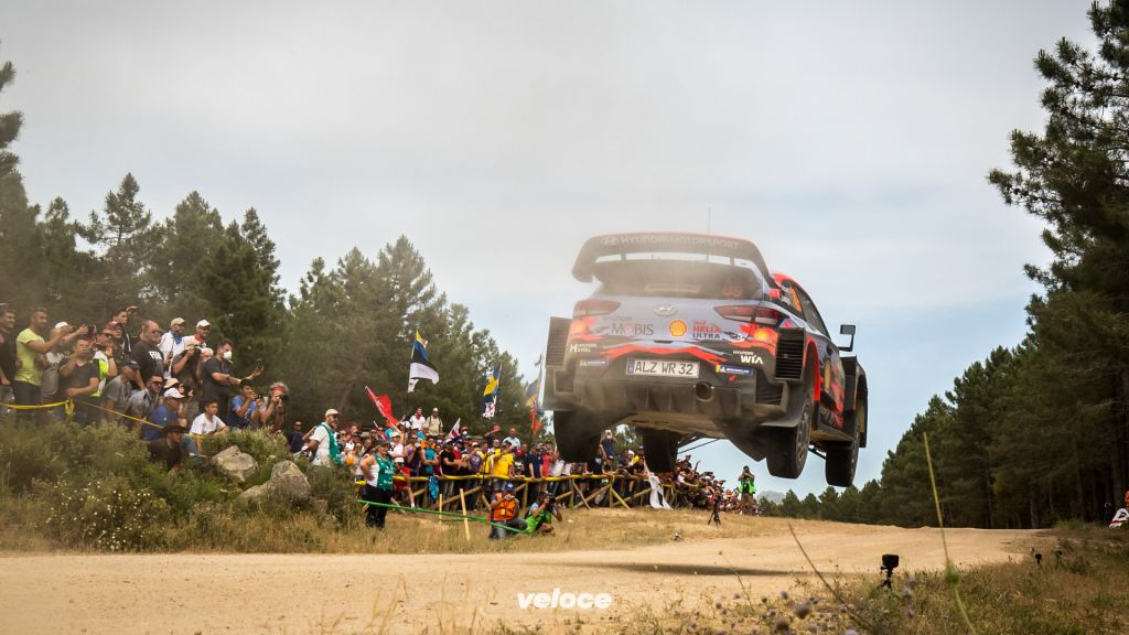 2019 FIA World Rally Championship Round 08 Rally Italia Sardegna 13 - 16 June  2019Day 2, Action, Andreas Mikkelsen, Anders Jaeger, Hyundai i20 Coupe WRCPhotographer: Fabien Dufour Worldwide copyright: Hyundai Motorsport GmbH