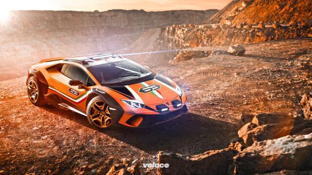 Sterrato, la Lamborghini di ampie vedute