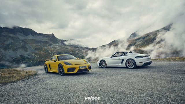 Torna la Porsche GT4 e stavolta è pure in variante Spyder