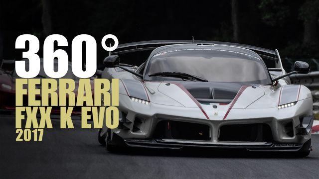 La guida di una Ferrari FXX K EVO a 360 gradi