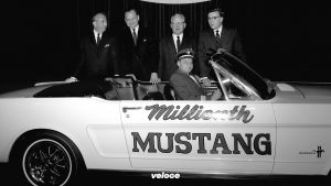 Capt. Stanley Tucker and His Ford Mustangs, Numbers 1 and 1 Mill