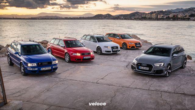 Venticinque anni fa nasceva la prima Audi RS