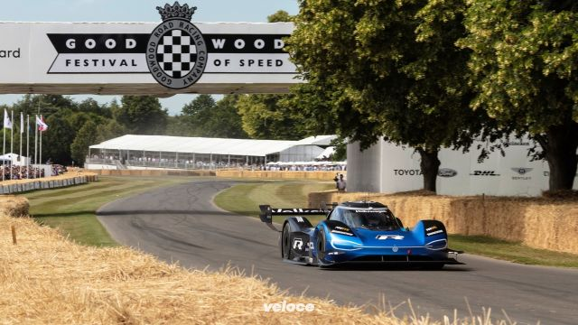 Nuovo record per la VW ID.R: stavolta a Goodwood