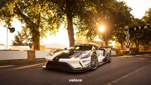 Ford GT MKII: fa la scatenata a Goodwood