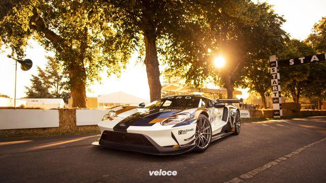 Ford GT MKII: fa la scatenata a Goodwood