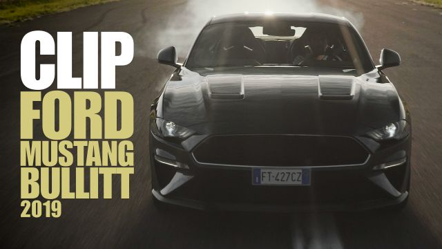 Ford Mustang Bullitt V8: segnali di fumo