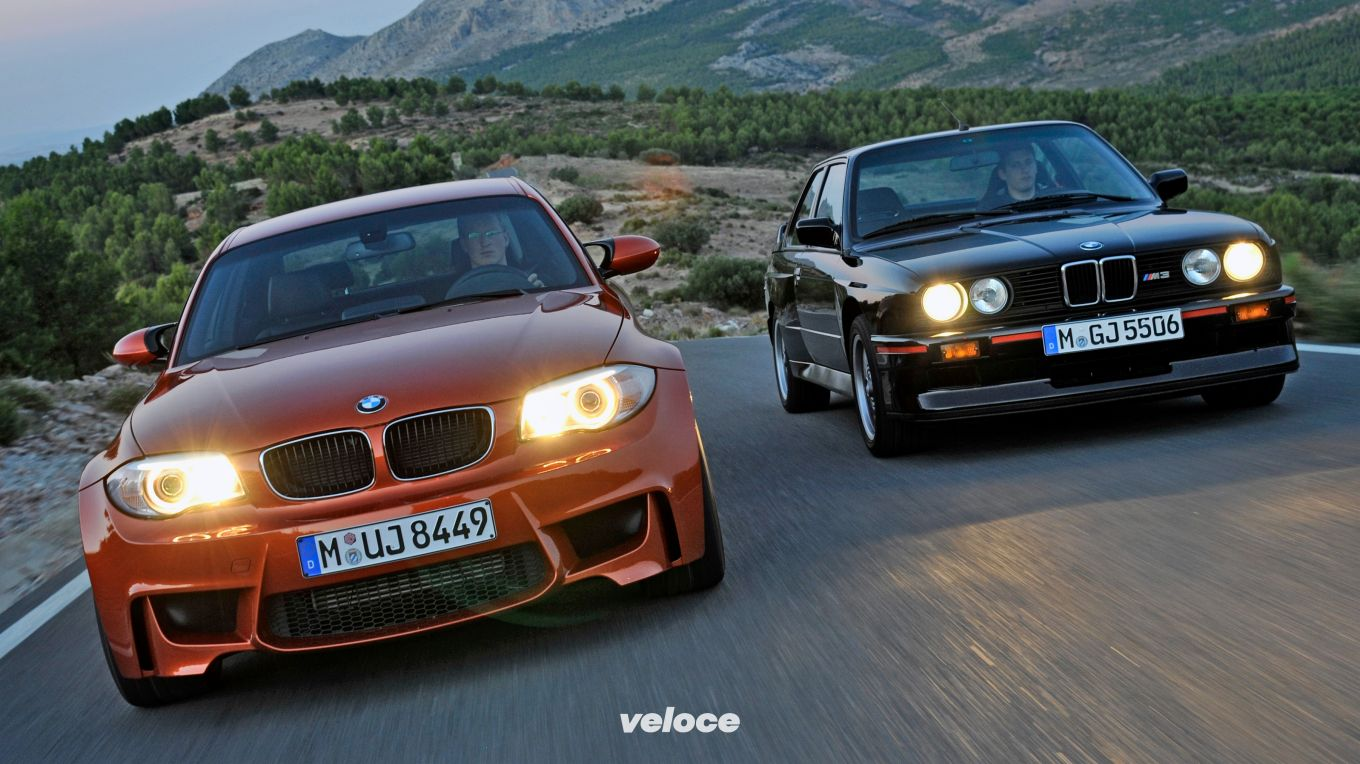 BMW 1 M and E30 M3