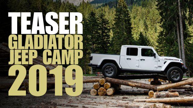 Preview: con la Jeep Gladiator del Camp Jeep