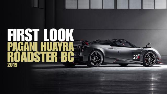 Horacio Pagani racconta la Huayra Roadster BC