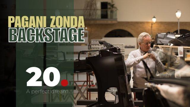 Il backstage del film di Veloce sui 20 anni della Zonda