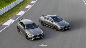 Mercedes-AMG A 45 S 4MATIC+ und CLA 45 S 4MATIC+ (2019) Mercedes-AMG A 45 S 4MATIC+ and CLA 45 S 4MATIC+ (2019)