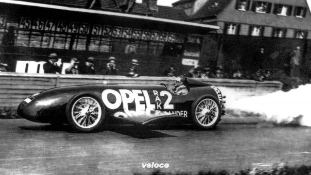Quando Fritz Von Opel tentò la via dei razzi