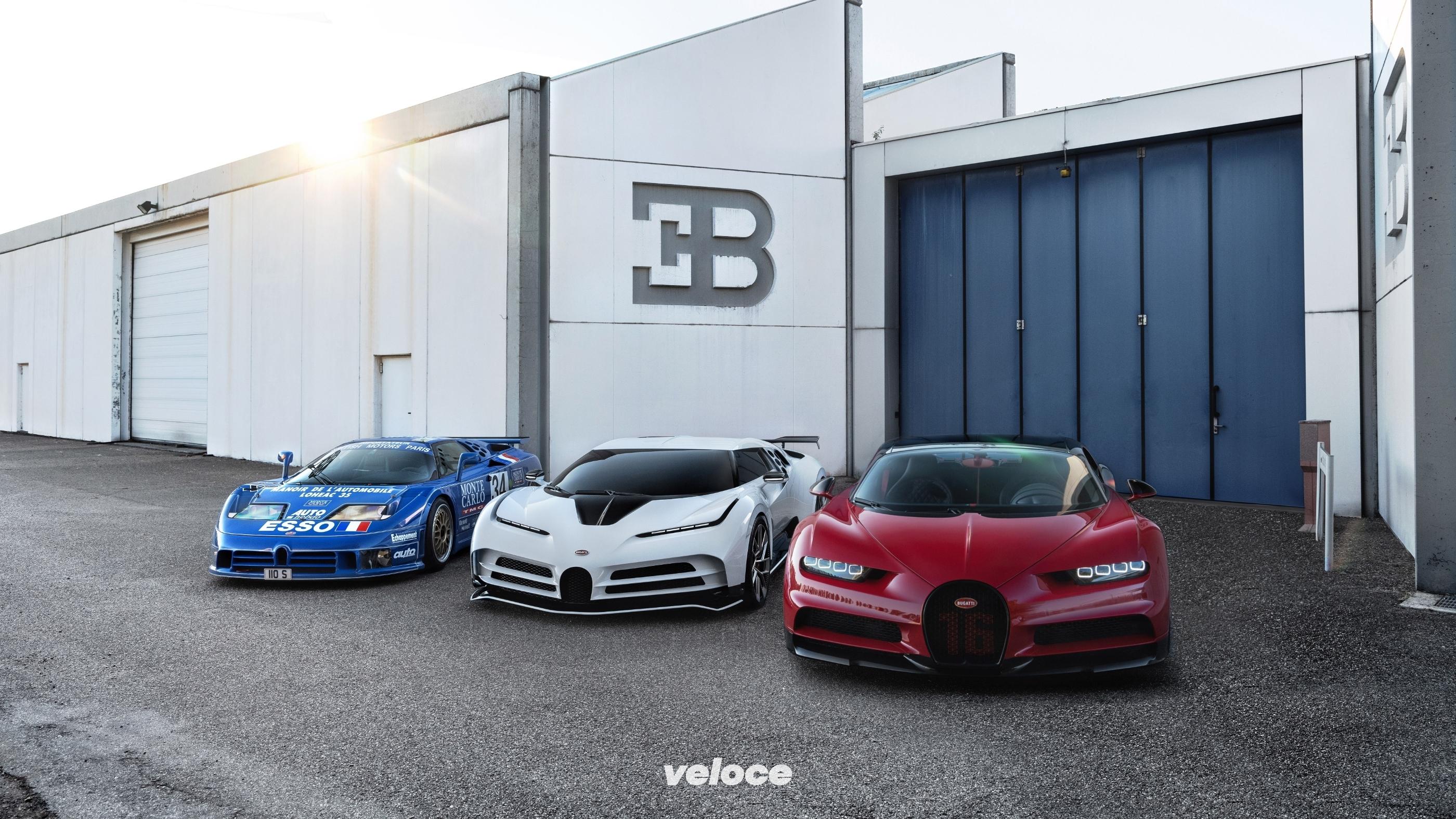 Bugatti Centodieci: l'omaggio alla Bugatti italiana