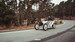 Pebble Beach Concours d'Elegance 2019: Fahrpremiere des Mercedes-Benz SSKL StromlinienrennwagensPebble Beach Concours d'Elegance 2019: Driving premiere of the Mercedes-Benz SSKL streamlined racing car
