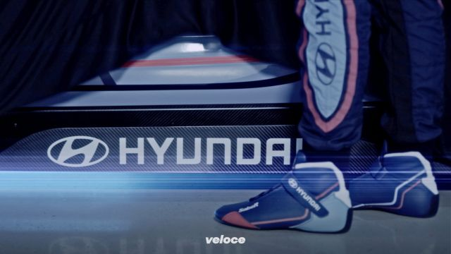A Francoforte l'EV della Hyundai fatta per correre