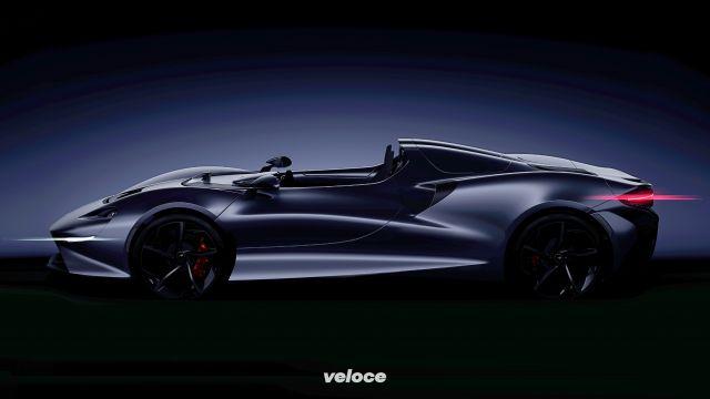 McLaren: una nuova hypercar a cielo aperto