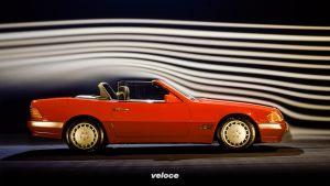 Mercedes-Benz SL der Baureihe R 129: Der Technologieträger feiert vor 30 Jahren PremiereMercedes-Benz SL of the R 129 model series: The technology platform celebrated its premiere 30 years ago