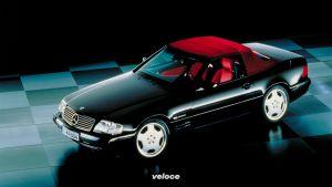 Mercedes-Benz SL der Baureihe R 129: Der Technologieträger feiert vor 30 Jahren Premiere Mercedes-Benz SL of the R 129 model series: The technology platform celebrated its premiere 30 years ago