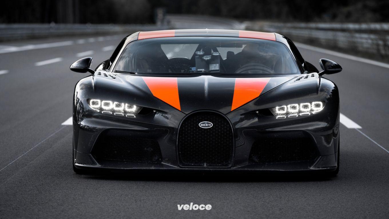 Così la Bugatti Chiron supera i 490 all'ora (e torna da record)