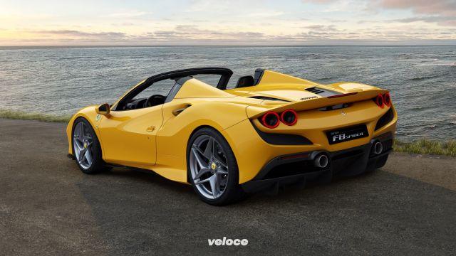 Ferrari F8 Spider: si scopre in 14 secondi
