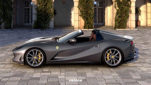 Ferrari 812 GTS: un V12 per l'aria aperta