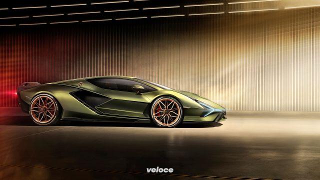 Lamborghini Siån: il V12 canta grazie all'elettricità