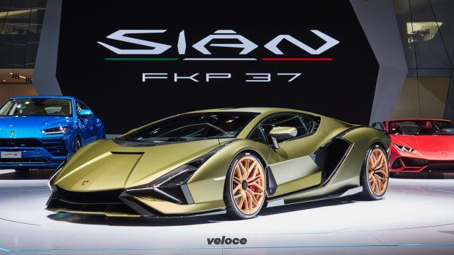 Lamborghini Sián: come funziona il sistema ibrido