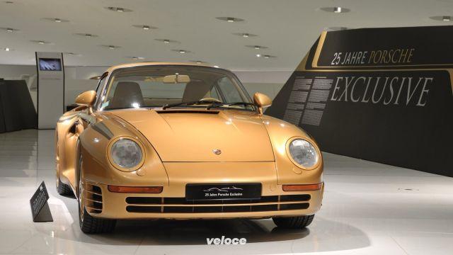 Porsche Exclusive e la 959 dorata dello sceicco
