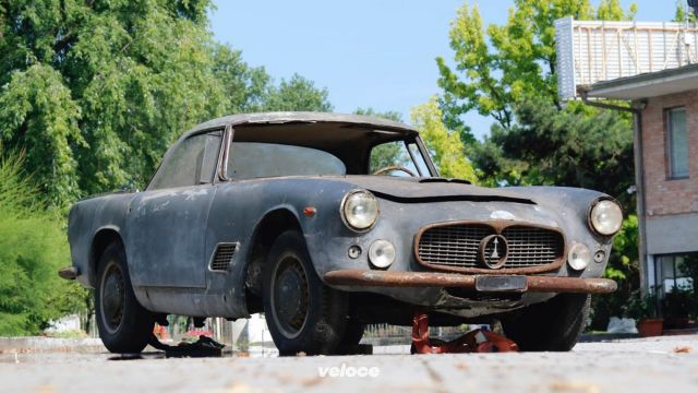 La Maserati di Fangio va all'asta a Padova