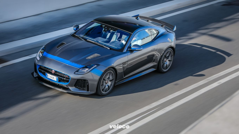 Jaguar F-Type SVR: l'inglese soperdotata