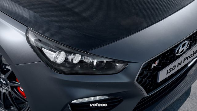 Hyundai i30 N Project C: dieta a base carbonio