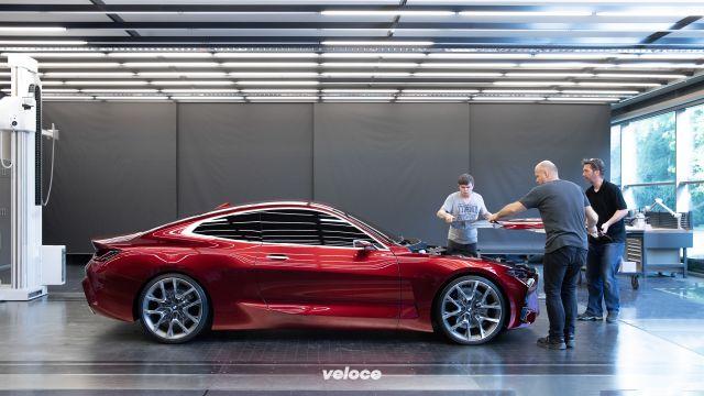 Suggestioni dal futuro: ecco la neo BMW Serie 4