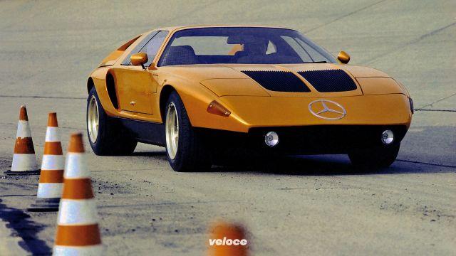 Mercedes C111: nel 1969 la supercar col rotativo