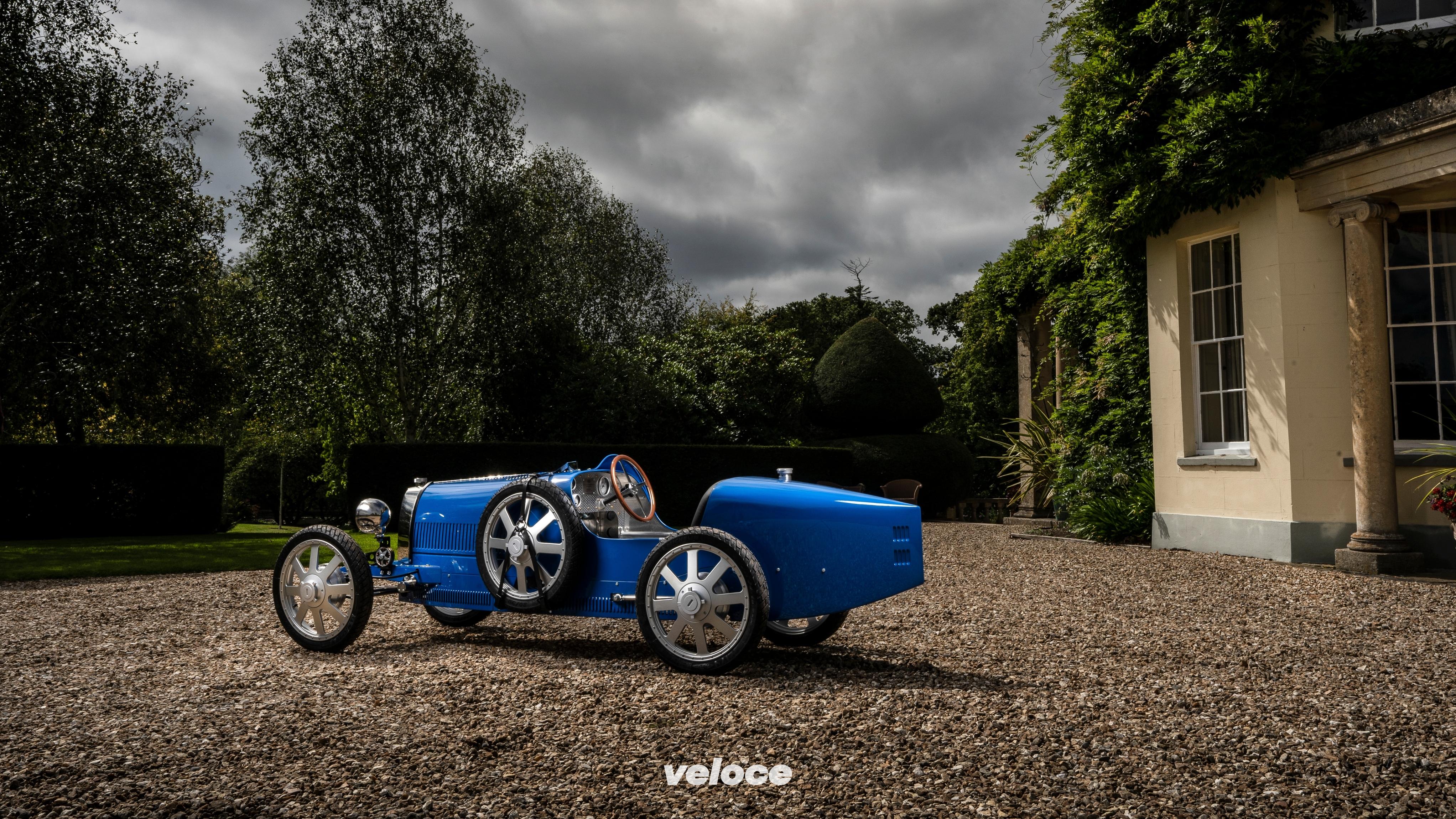 Bugatti Baby II: l'elettrica vintage per i bambini