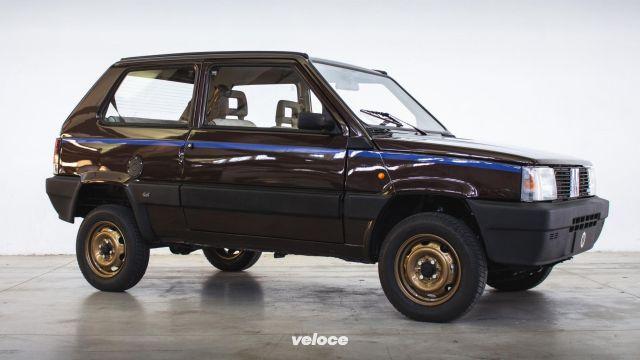 La Panda 4×4 diventa elettrica con Garage Italia