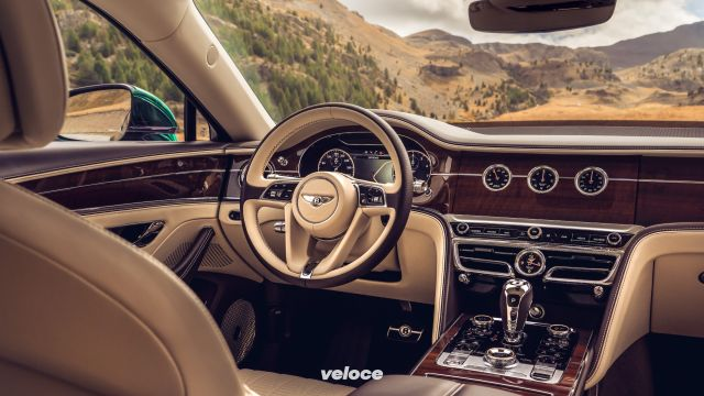 10 sciccherie della nuova Bentley Flying Spur