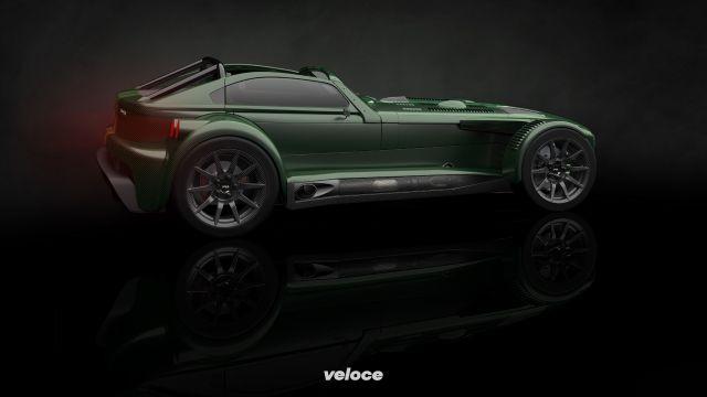 Donkervoort D8 GTO-JD70: 420 cavalli per 700 chili