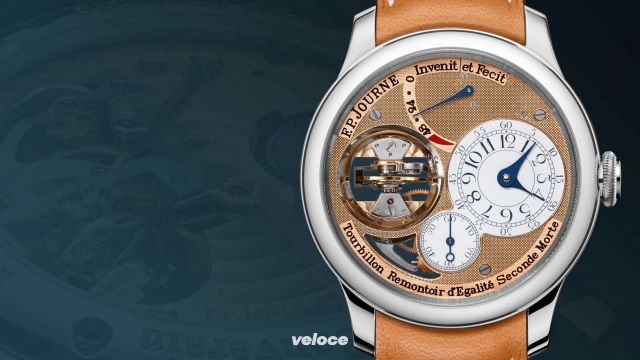 L'innovativo tourbillon di Frangois-Paul Journe