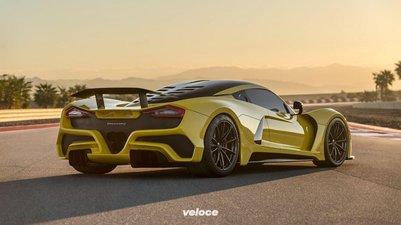 Hennessey: il V8 della Venom ha 1842 cv!