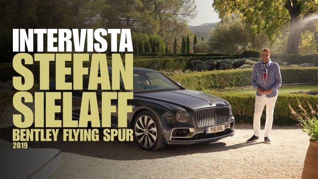 Bentley Flying Spur: ce la racconta il disegner