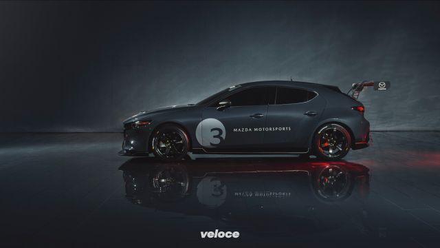 Mazda 3 TCR: la giapponese da corsa