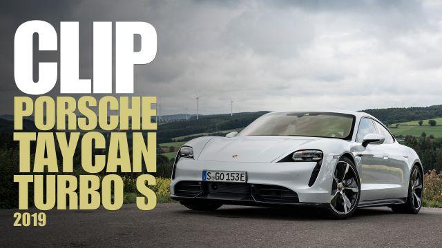 Clip: a tu per tu con la Porsche Taycan Turbo S