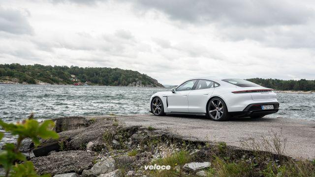 Porsche Taycan: la velocità qui è lampante