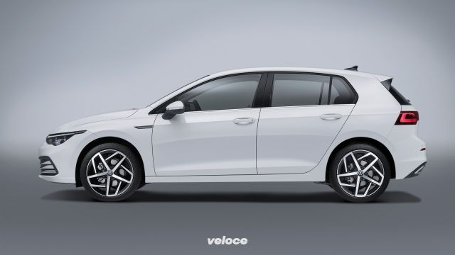 Volkswagen Golf VIII: un pozzo di tecnologia