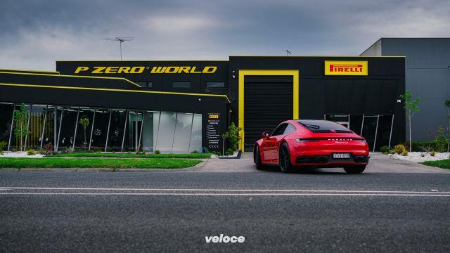 Pirelli: a Melbourne un nuovo P Zero World