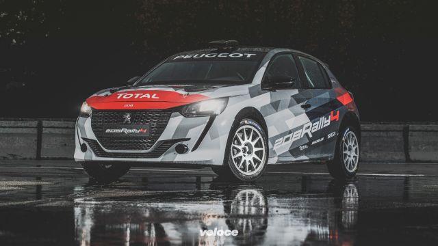 Peugeot 208 R4: la rallysta ha 208 cv