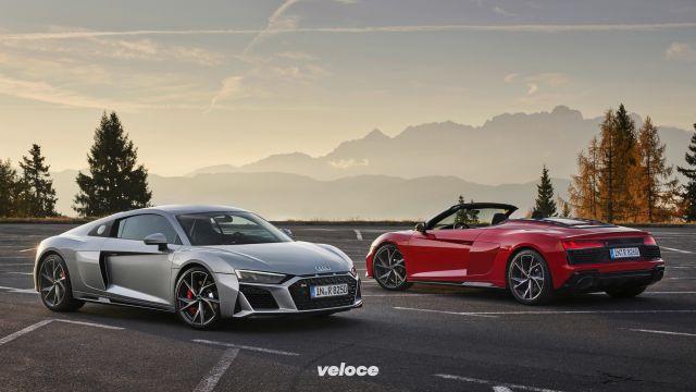 L'Audi R8 torna a trazione posteriore