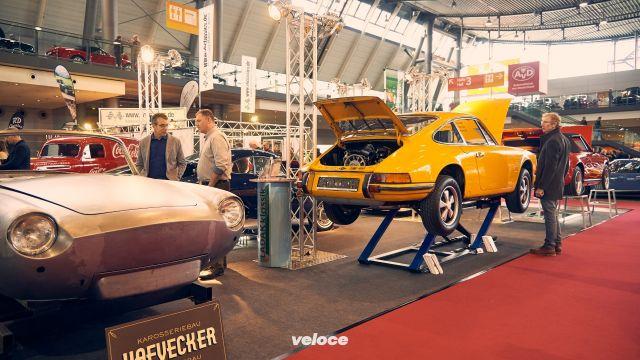 Auto classiche tedesche in visita a Milano