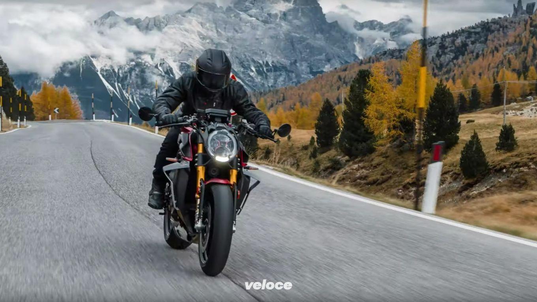 Le motosinfonie di MV Agusta tra le Dolomiti