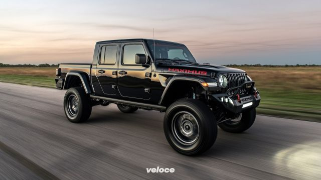 Hennessey Maximus: il pick-up Jeep con 1000 cv